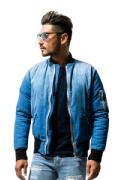【RESOUND CLOTHING】<br> リサウンドクロージング<br>MA DENIM DOWN JACKET(INDPALM)
